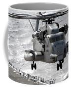 A Ch-53e Super Stallion Helicopter Coffee Mug