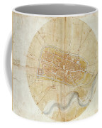 A Plan Of Imola Coffee Mug