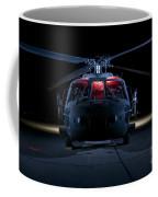 A Uh-60 Black Hawk Helicopter Lit Coffee Mug