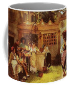 A Venetian Fan Seller Henry Woods Coffee Mug