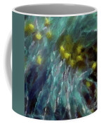 Abstract 92 Digital Oil Painting On Canvas Full Of Texture And Brig Coffee Mug
