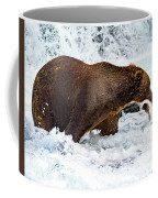 Alaska Brown Bear Coffee Mug