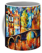 Amsterdam Coffee Mug by Leonid Afremov