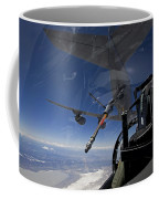 An F-15 Eagle Pulls Into Position Coffee Mug