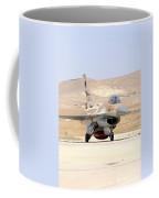 An Israeli Air Force F-16a Netz Taxiing Coffee Mug
