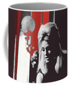 Angie Dickinson On Stage Number 2 Young Billy Young Set Old Tucson Arizona 1968-2013 Coffee Mug