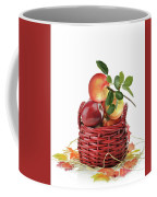 Apples In A Basket  Coffee Mug