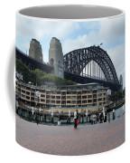 Australia - Sydney Harbour Bridge On Circular Quay Coffee Mug