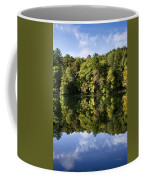 Autumn Sunrise Reflection Landscape Coffee Mug