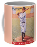 Babe Ruth (1895-1948) Coffee Mug