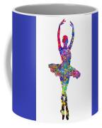 Ballet Dancer-colorful Coffee Mug