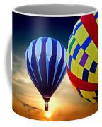 2 Balloons Coffee Mug