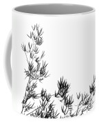 Bamboo Tree And Leaves Coffee Mug