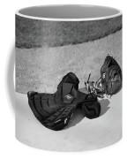 Baseball Glove And Chest Protector Coffee Mug