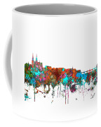 Basle Switzerland Skyline Coffee Mug