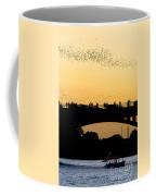 Bat Flight In Austin Texas Coffee Mug