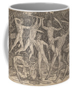 Battle Of The Nudes Coffee Mug