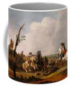 Battle Scene Coffee Mug