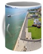 Belem Tower Panorama Coffee Mug