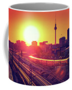 Berlin - Sunset Skyline Coffee Mug