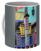 Birdhouses For Colorful Birds 3 Coffee Mug