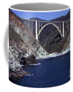 Bixby Creek Aka Rainbow Bridge Bridge Big Sur Photo  Coffee Mug
