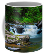 Black Slate Falls Coffee Mug