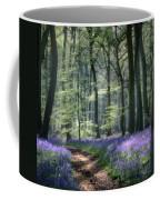 Bluebell Path Coffee Mug
