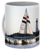 2 Boats Approach Coffee Mug