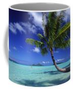 Bora Bora, Palm Tree Coffee Mug