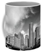 Boston Skyline 1980s Coffee Mug