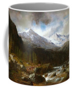 Bringing The Cattle Down From The Alm Coffee Mug