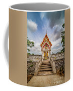 Buddhist Temple Coffee Mug by Adrian Evans
