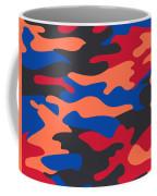 Camouflage Pattern Background Seamless Clothing Print, Repeatabl Coffee Mug