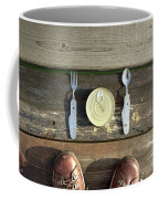 Canned Meal At A Camping Trip Coffee Mug