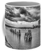 Cardiff Bay Panorama Mono Coffee Mug