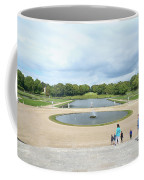 Chantilly Castle Garden In France Coffee Mug