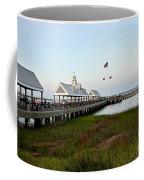 Charleston Waterfront Park During Sunset Coffee Mug