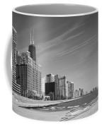 Chicago Skyline And Beach Coffee Mug