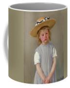 Child In A Straw Hat Coffee Mug