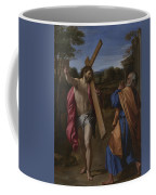 Christ Appearing To Saint Peter On The Appian Way Coffee Mug