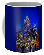 Christmas Tree Near Panther Stadium In Charlotte North Carolina Coffee Mug