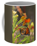 Clinging Butterfly Coffee Mug