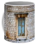 Closed Door Of An Old Chapel In Croatia Coffee Mug
