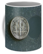 Coin Containing Silver Inhibits Coffee Mug