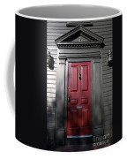 Colonial Red Door Newport Rhode Island Coffee Mug