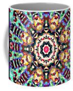 Colorful Concentric Abstract Coffee Mug