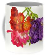 Colorful Freesia Coffee Mug