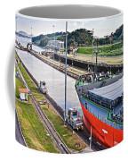 Crossing Panama Canal Coffee Mug