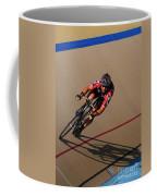 Cycle Racing On The Curve Coffee Mug